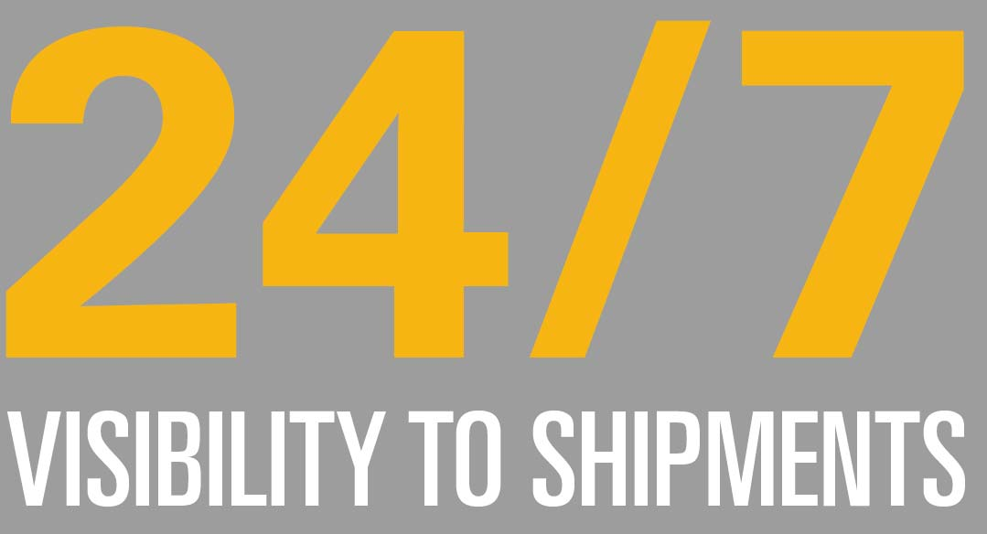 Benefits of new BNSF & KCS Mexico freight shipping service: 24/7 visibility to shipments.